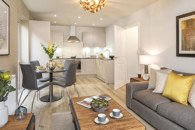 """Thumbnail Semi-detached house for sale in """"Alcester"""" at Cranmore Circle, Broughton, Milton Keynes"""