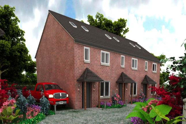 Thumbnail Terraced house for sale in Redbrick Place Station Road, Madeley, Crewe