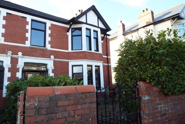 Thumbnail Semi-detached house to rent in Fairwater Grove West, Llandaff, Cardiff