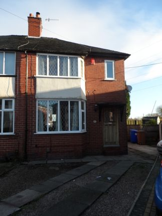 Thumbnail Semi-detached house to rent in Walley Drive, Sandyford, Stoke On Trent, Staffordshire