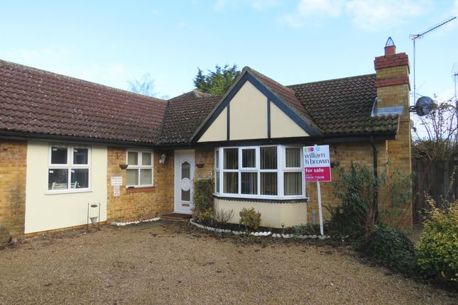Thumbnail Detached bungalow for sale in Grosvenor House Court, Mildenhall, Bury St. Edmunds