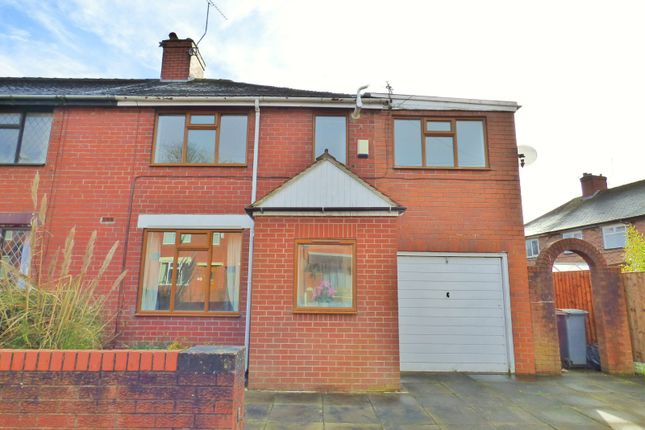 Thumbnail Semi-detached house to rent in Beckett Avenue, Longton, Stoke-On-Trent