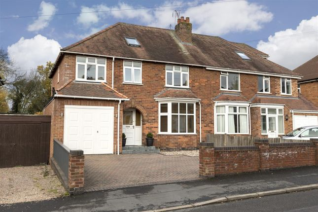 Thumbnail Semi-detached house for sale in Melton Road, Leamington Spa
