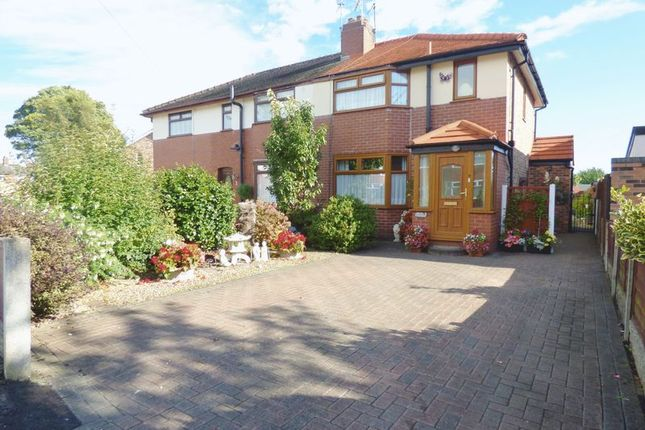 Thumbnail Semi-detached house for sale in Grange Drive, Penketh, Warrington