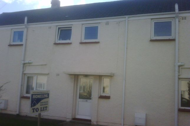 Thumbnail Terraced house to rent in Furzy Park, Haverfordwest