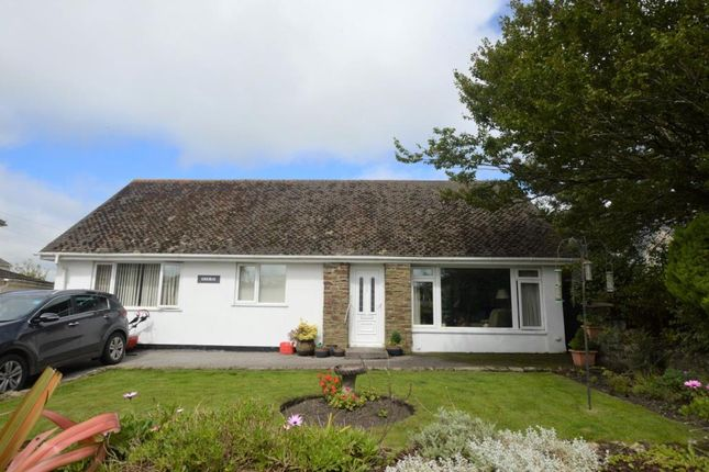 Thumbnail Detached bungalow for sale in Crowan, Praze, Camborne, Cornwall