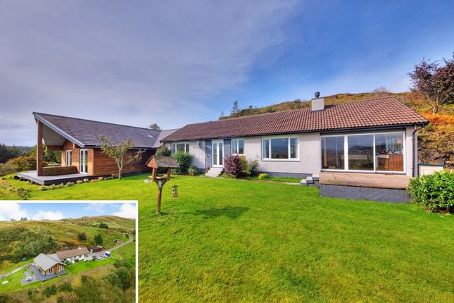 Thumbnail Detached bungalow for sale in Glencruitten, Oban