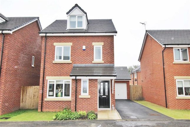 Thumbnail Detached house for sale in Manse Gardens, Goose Green, Wigan