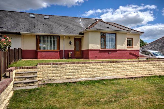 Thumbnail Semi-detached bungalow for sale in Penmaen, Blackwood