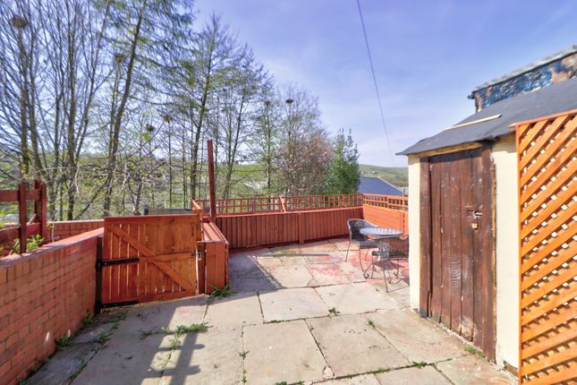 Garden Patio of Thorn Street, Bacup OL13