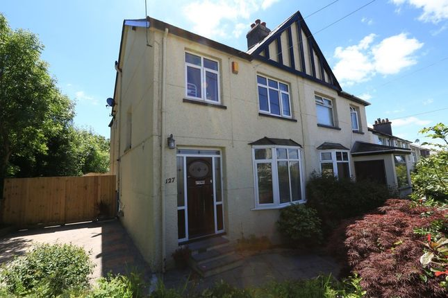 Thumbnail Semi-detached house to rent in Plymstock Road, Plymstock, Plymouth