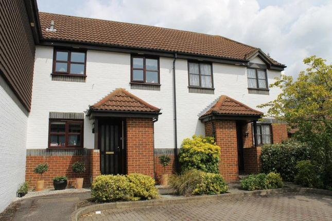 Thumbnail Terraced house for sale in Englefield Close, Englefield Green, Surrey
