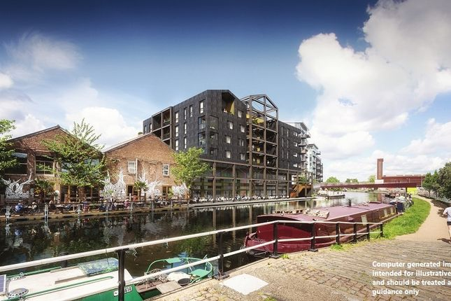 1 bed flat for sale in Fish Island, Hackney