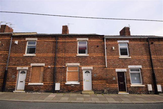Thumbnail Terraced house for sale in Sixth Street, Horden, Durham