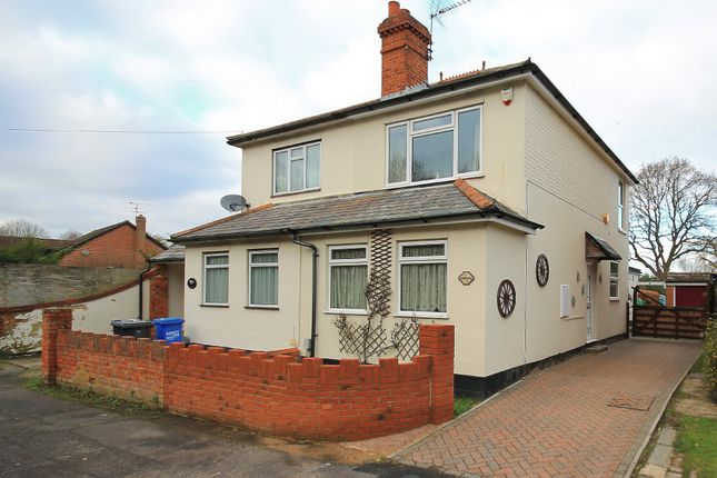 Thumbnail Semi-detached house for sale in Darby Green Road, Blackwater, Camberley