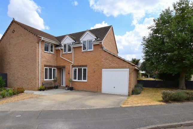Thumbnail Detached house for sale in Lomax Drive, Brampton, Huntingdon, Cambridgeshire