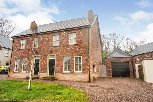 Thumbnail Semi-detached house for sale in Hunters Lodge, Lurgan