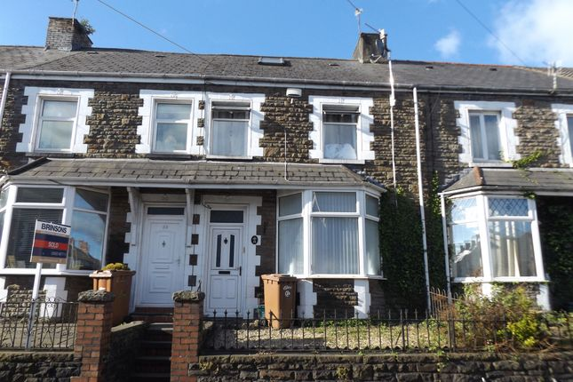 Thumbnail Terraced house for sale in Mill Road, Caerphilly