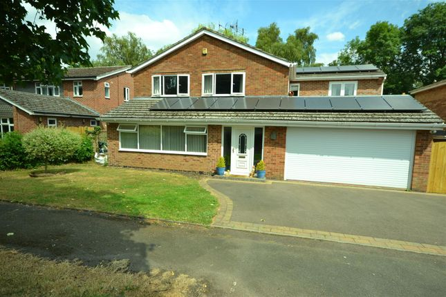Thumbnail Detached house for sale in Hollies Way, Bushby, Leicester