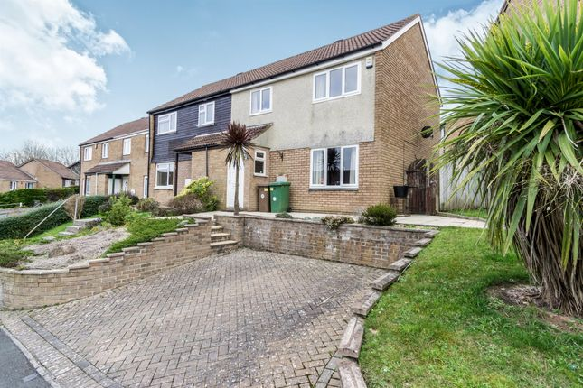 Thumbnail End terrace house for sale in Westhays Close, Plymstock, Plymouth