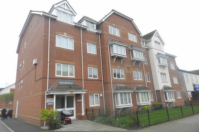 Thumbnail Flat to rent in Hamilton Court, Hornby Road, Blackpool