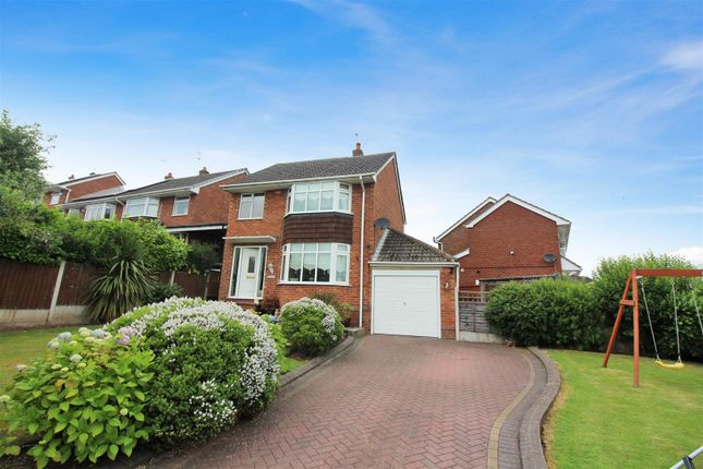 Thumbnail Detached house for sale in Hillside Avenue, Forsbrook, Stoke-On-Trent