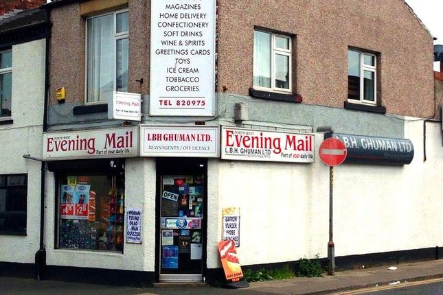 Thumbnail Retail premises for sale in Barrow-In-Furness LA14, UK