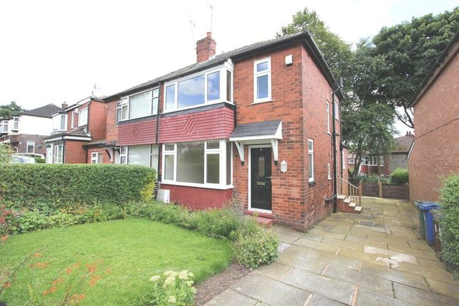 3 bed semi-detached house to rent in Agecroft Road West, Prestwich, Manchester M25