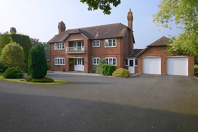 Thumbnail Detached house for sale in South Gardens, Burnt Hill, Berkshire