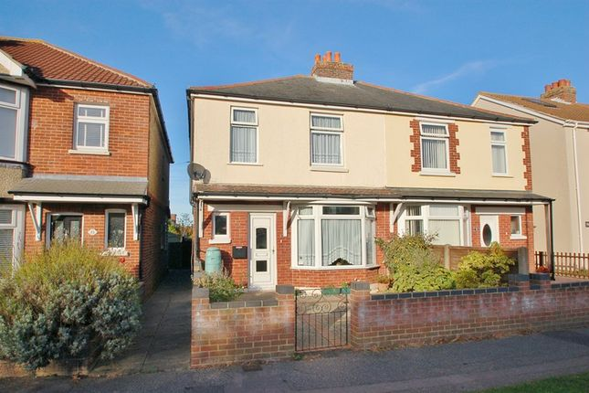 Thumbnail Semi-detached house for sale in Bury Hall Lane, Alverstoke, Gosport