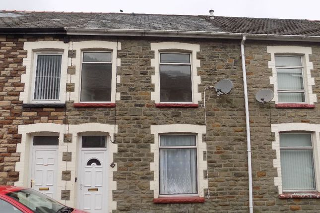 Thumbnail Terraced house for sale in Evelyn Street, Abertillery
