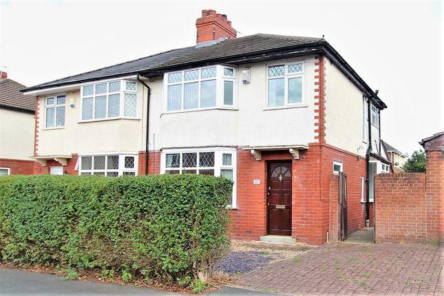 Thumbnail Semi-detached house to rent in Stanley Grove, Penwortham, Preston