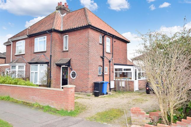 Thumbnail Semi-detached house for sale in Trafford Road, Norwich