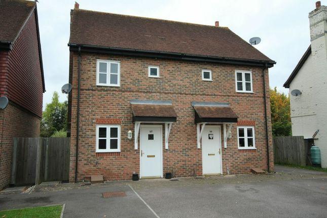 Thumbnail Semi-detached house for sale in Holders Close, Billingshurst
