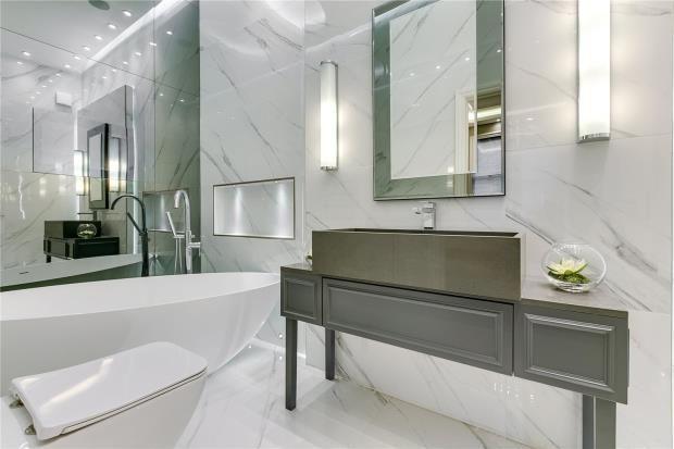 Bathroom of Park Mansions, Knightsbridge, London SW1X