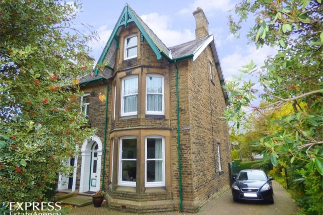 Thumbnail Semi-detached house for sale in North Road, Glossop, Derbyshire