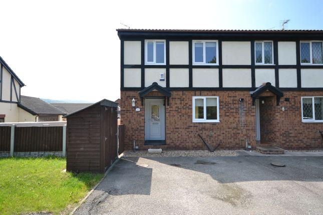 Thumbnail End terrace house for sale in Llys Y Mor, Abergele