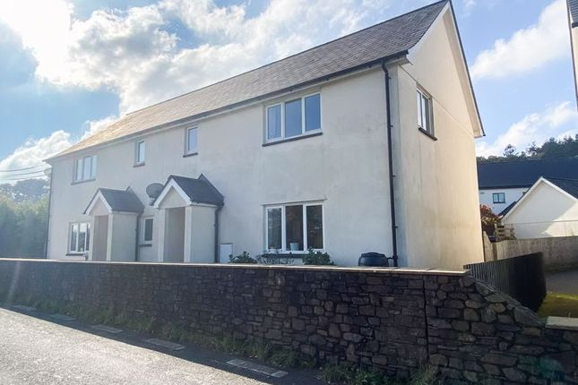 Thumbnail Semi-detached house for sale in Sticklepath, Okehampton