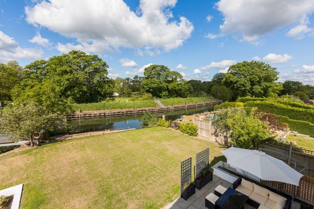 Thumbnail Detached house to rent in Ham Island, Old Windsor, Windsor