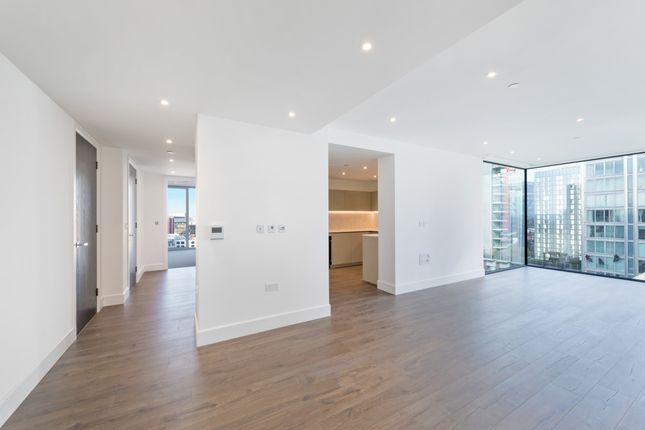 Living Area of Perilla House, Goodmans Fields, Aldgate E1