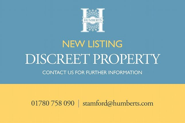 Thumbnail Detached house for sale in Discreet Listing, Barnack, Stamford, Lincolnshire