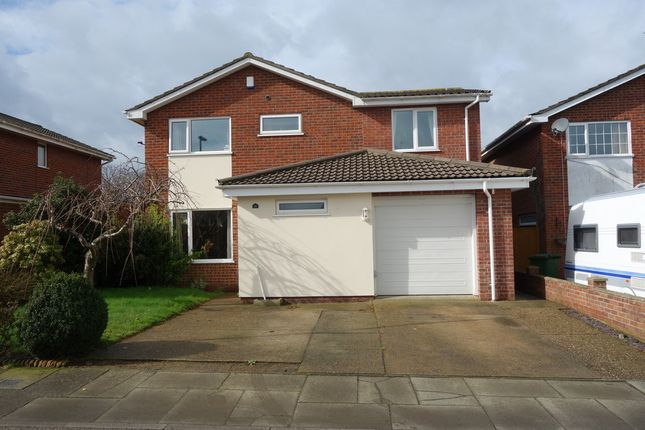 Thumbnail Detached house for sale in Redwing Drive, Bradwell, Great Yarmouth