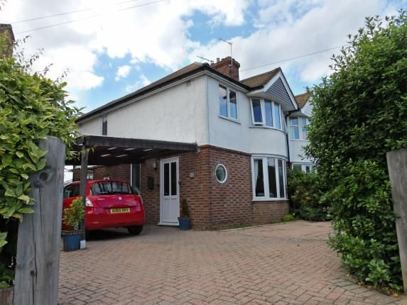 Thumbnail Semi-detached house for sale in Thorpe St. Andrew, Norwich, Norfolk