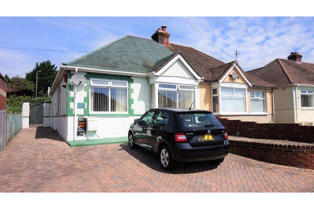 Thumbnail Semi-detached bungalow for sale in The Crossway, Fareham