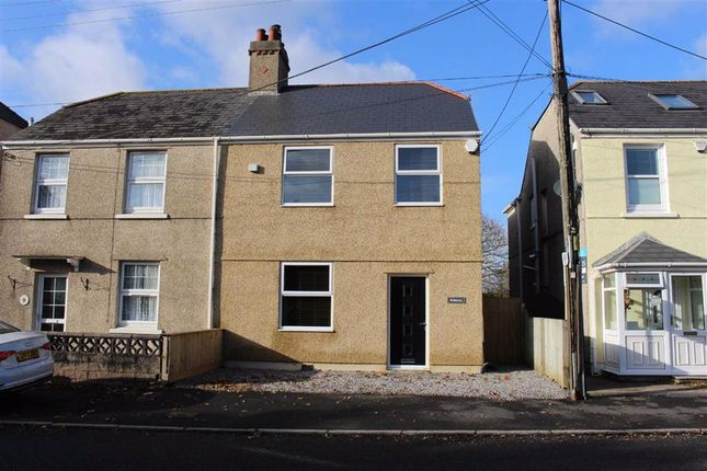 Thumbnail Semi-detached house for sale in Llanmorlais, Swansea