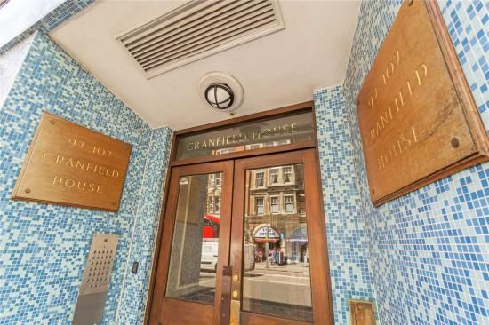 Thumbnail Property for sale in Cranfield House, 97-107 Southampton Row, London