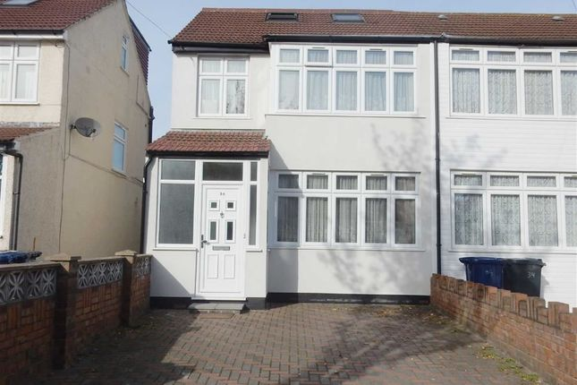 Thumbnail End terrace house for sale in St. Josephs Drive, Southall, Middlesex