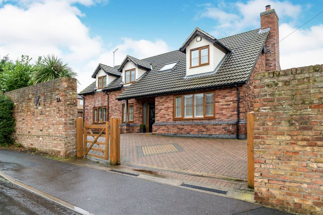 Thumbnail 4 bed detached house for sale in Blenheim Way, Yaxley, Peterborough