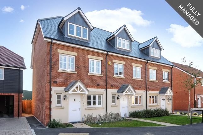 Thumbnail End terrace house to rent in Redstart Croft, Bracknell, Berkshire
