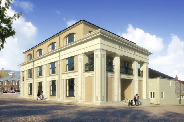 Thumbnail Flat for sale in Flat 1 Pouncy Hall, Liscombe Street, Poundbury, Dorchester